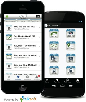 mobile app for medical practice